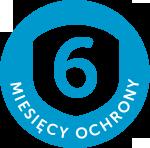 6 miesięcy ochrony - logo