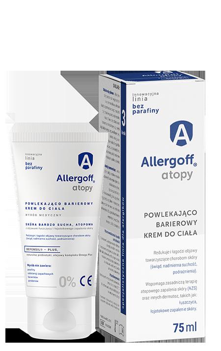 Allergoff powlekająco barierowy krem do ciała - zdjęcie produktu