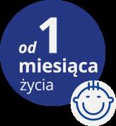 od pierwszego miesiąca życia - logo