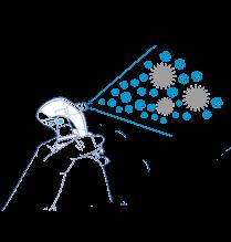 Rozpylacz Allergoff - grafika