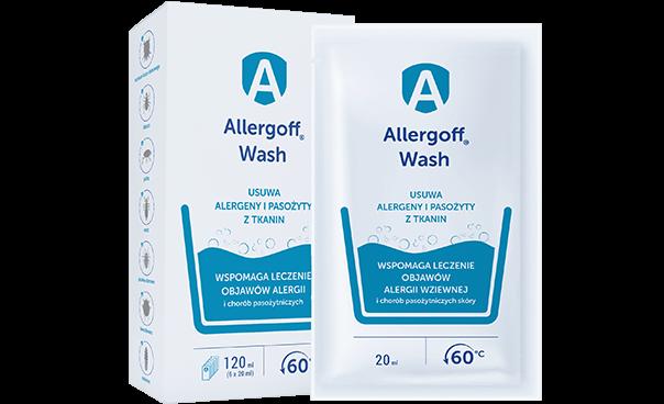 Allergoff Wash - dostępne opakowania